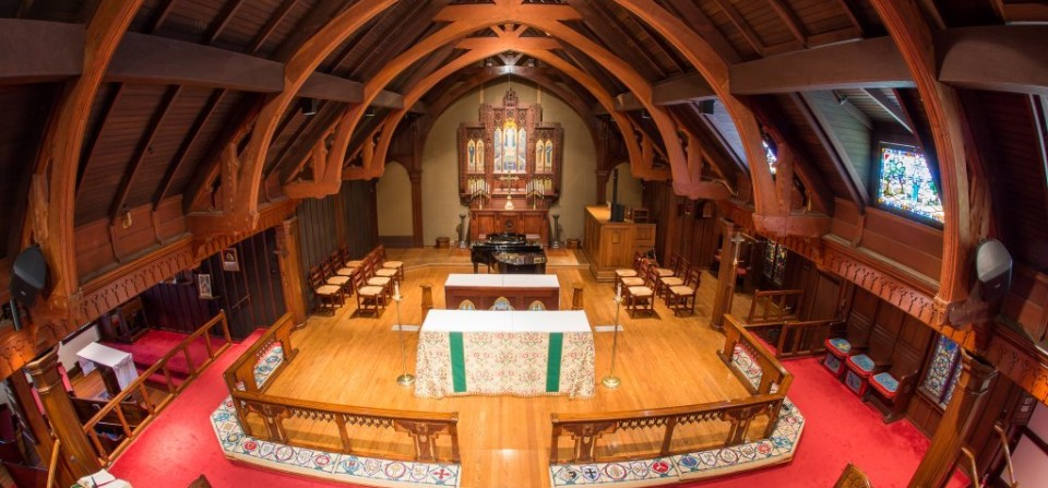 A Beautiful Episcopal Church; Check Out More Great Photos on Our Flickr Page.  Just Click on Photo