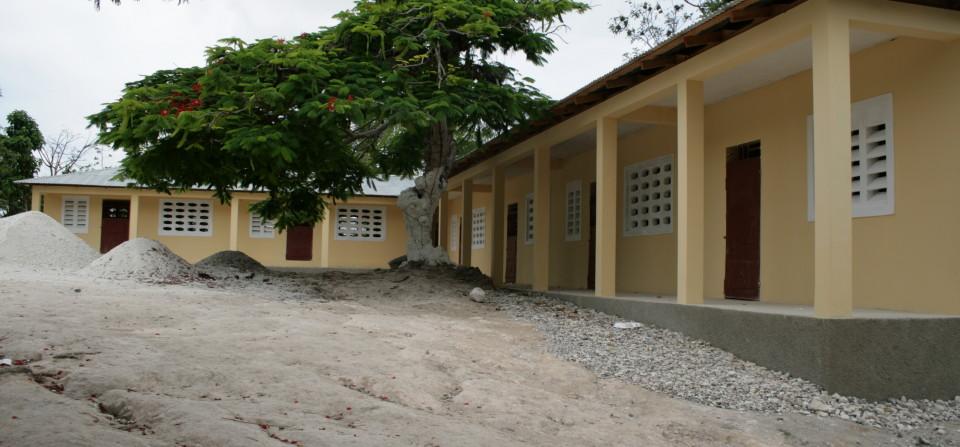 The School We Built In Haiti!  Click Here For Information On How We Change Lives Through Outreach