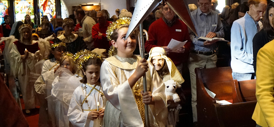 Children From All Saints' Sunday School & Parish School Team Up for Christmas Pageant.  See Our Flickr Site For More Pix (Click on Photo)