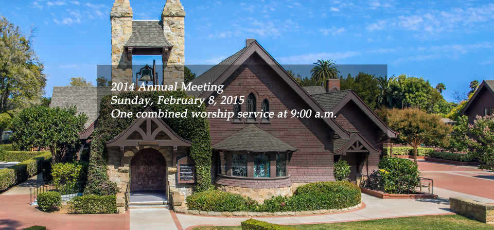 Please plan to attend the 2014 Annual Meeting on Sunday, Feb. 8 – Click photo for more details