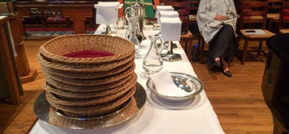 The Story of All Saints' Offertory Baskets