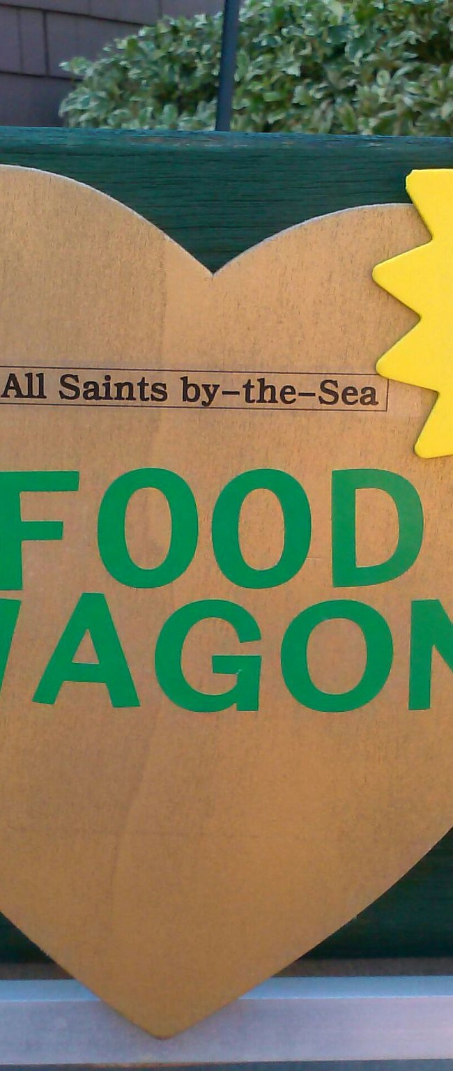 The All Saints Food Wagon! Please Bring Food to Donate EachSunday!