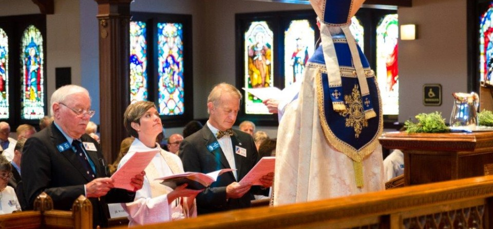 The Installation of The Rev. Aimee Eyer-Delevett, the 8th Rector of All Saints-by-the-Sea – Click For More Photos