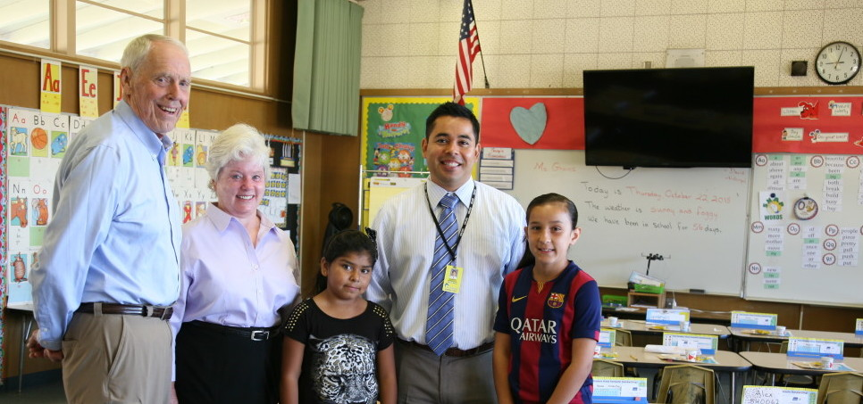 All Saints' Outreach Committee Supports Teacher Training, PE Classes, Student Enrichment at Cleveland Elementary School