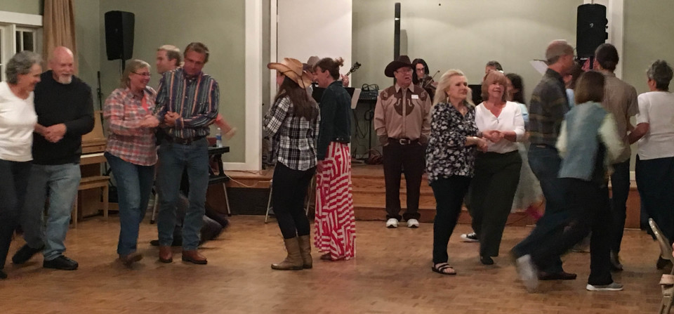 """All Saints' First Fall Square Dance A """"Swinging"""" Good Time"""