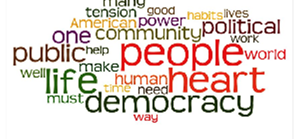 """""""Healing the Heart of Democracy"""" Adult Formation Class Meets Wednesday Evenings"""
