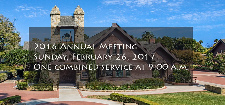 2016 Annual Meeting