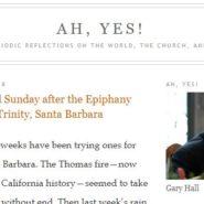 Read, Listen to Sunday Sermon from The Rev. Gary Hall, Rector of Trinity SB