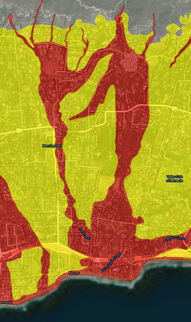 Santa Barbara County Unveils New Storm Evacuation Definitions, Evacuation Timeline and Interactive Map